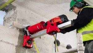 Wiercenia w betonie specjalistycznym sprzętem